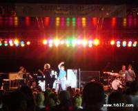 Concert on the Beach - Michael W. Smith-Here I am to worship & Above All Panama City Beach 8/22/10